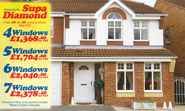 Special Offers on Windows, Doors and Conservatories